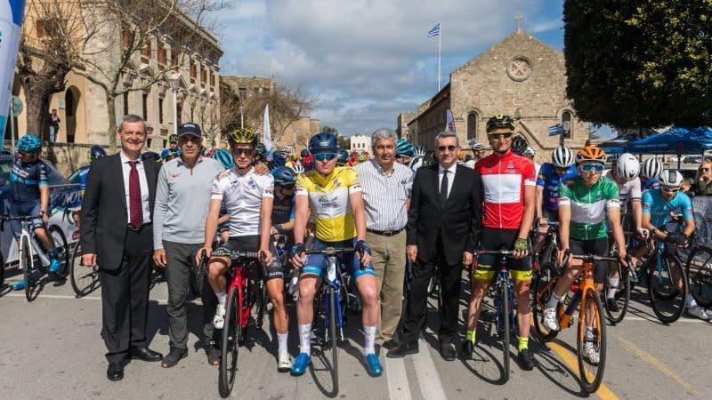 Άριστη η διοργάνωση των διεθνών αγώνων ποδηλασίας στη Ρόδο