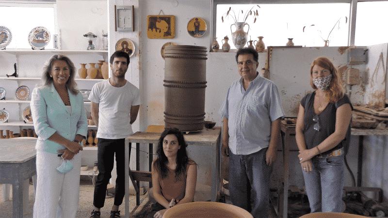 Έκθεση σύγχρονης κεραμικής στο Κατάλυμα της Γαλλίας στη Μεσαιωνική Πόλη της Ρόδου