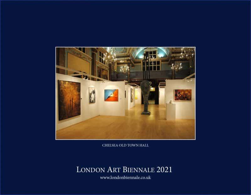 London Art Biennale 2021 Digital Invitation