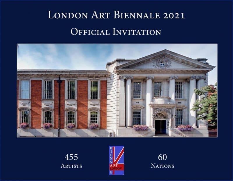 London Art Biennale 2021 Invitation