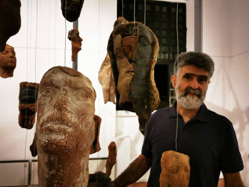 Αντώνης Τσακίρης, γλύπτης | Ιανός