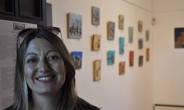 Σελίνα Κρητικού, pebble artist | Συνέντευξη